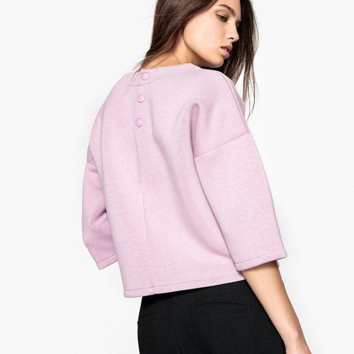 Neoprene Look Sweatshirt  La Redoute Collections image 0