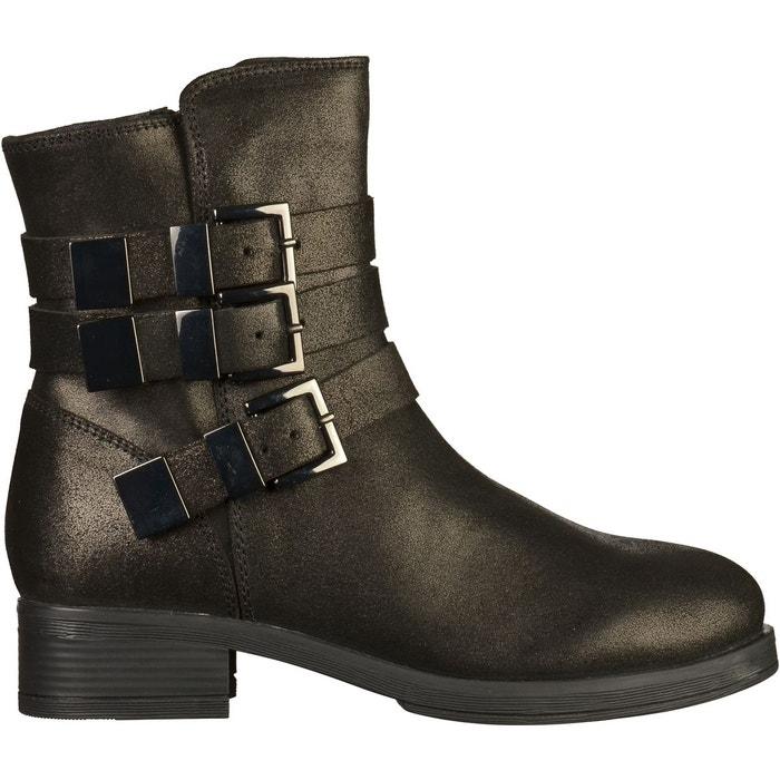 Escompte Combien Bottines noir Bronx Style De Mode En Ligne Vue Pas Cher Vente De Nouveaux Styles Le Plus Récent sSZ4eH3x