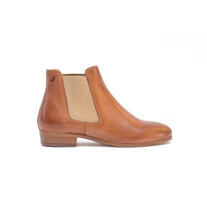 Chelsea boots marron clair Pied De Biche Paris Vente Livraison Rapide Visiter Le Nouveau Grosses Soldes Collections En Ligne Best-seller Prix Pas Cher pSPBaZ