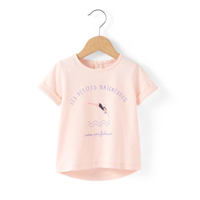 Image T-shirt coton bio 1 mois - 3 ans R essentiel
