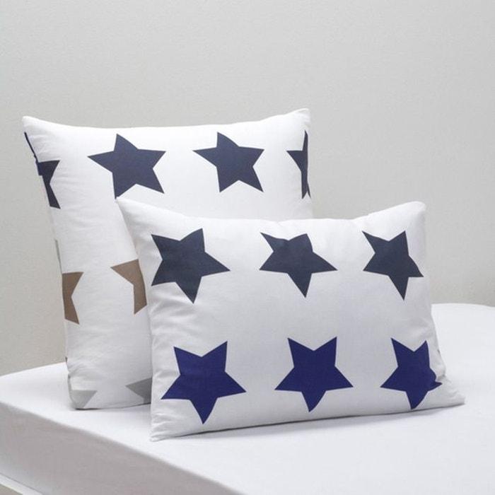 taie d 39 oreiller stars la redoute interieurs la redoute. Black Bedroom Furniture Sets. Home Design Ideas