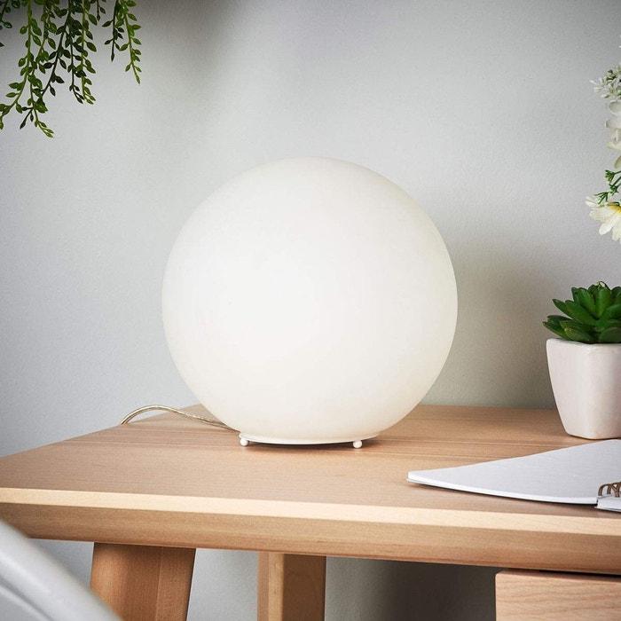 Lampe A Poser En Verre Moderne Led Fenja Blanc Lampenwelt La Redoute