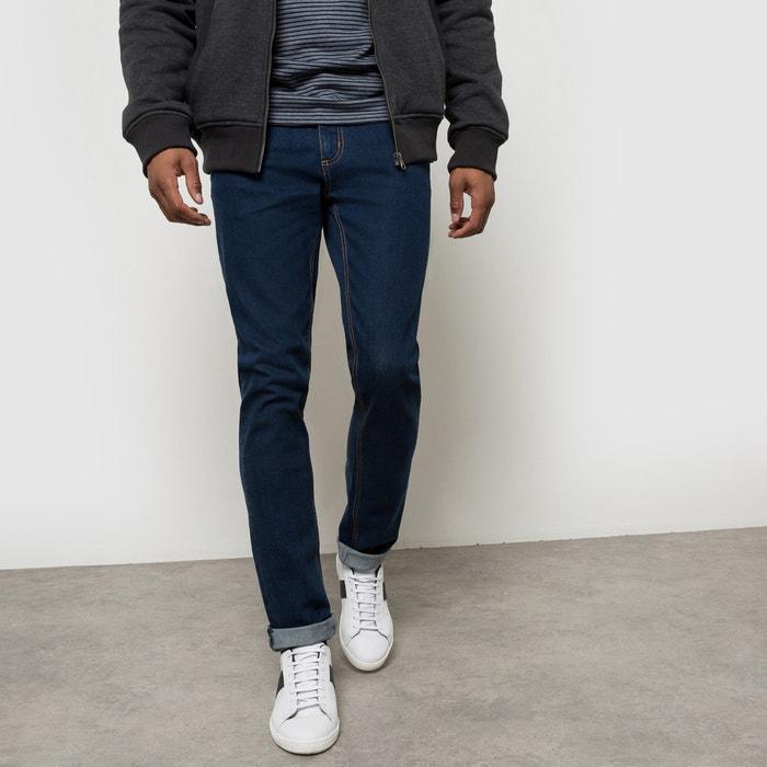 Os jeans 5 bolsos, corte slim R édition