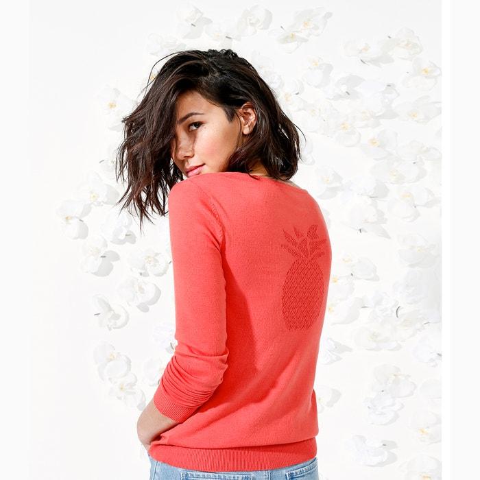 tunecino Redoute cuello algod con Collections Jersey 243;n La Xx4zz