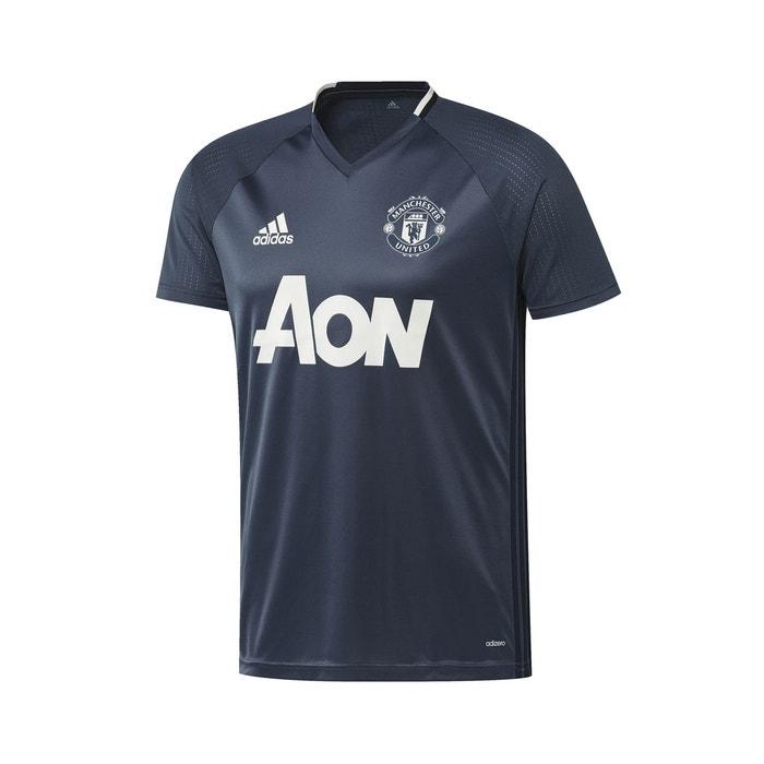maillot entra nement manchester united bleu bleu adidas la redoute. Black Bedroom Furniture Sets. Home Design Ideas