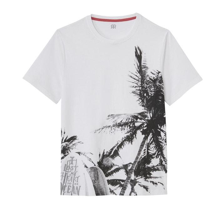 3963de5a05 Palm Tree Photo Print Cotton T-Shirt
