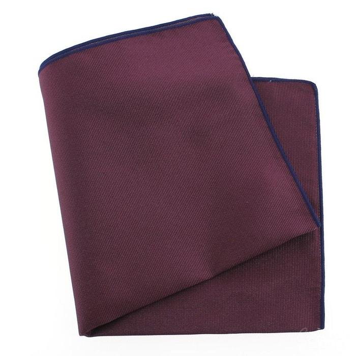 Pochette soie, melanconia, ourlet bleu royal violet Tony Et Paul | La Redoute