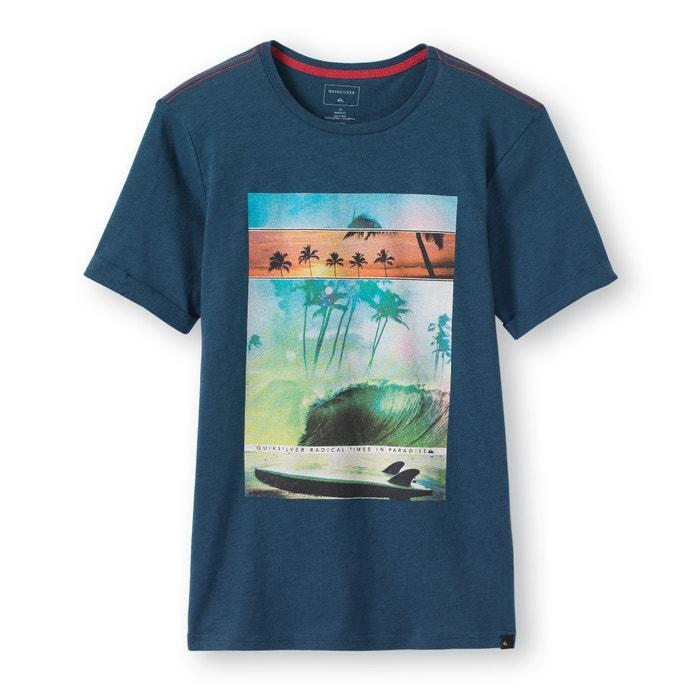 afbeelding Bedrukt T-shirt met ronde hals 8- 16 jr Quiksilver® QUIKSILVER