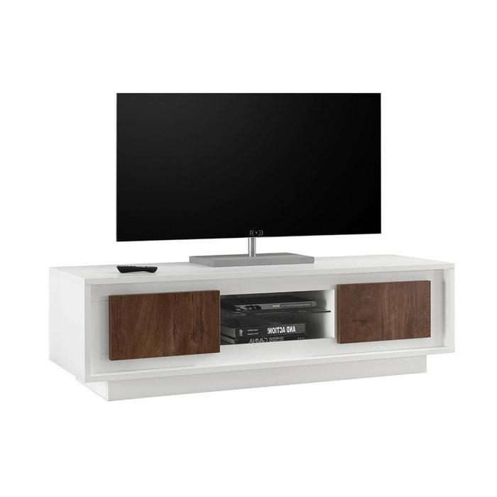 meuble tv design avec rangements dcor ciment land miliboo image 0