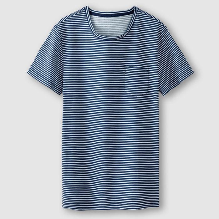 T-shirt às riscas R édition