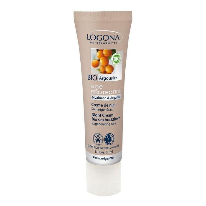 Crème de nuit bio Age protection LOGONA