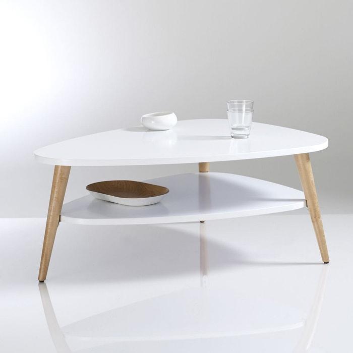 table basse vintage double plateau jimi la redoute interieurs la redoute. Black Bedroom Furniture Sets. Home Design Ideas