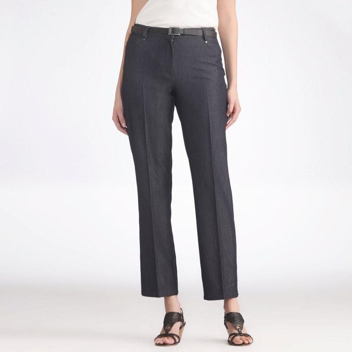 Image Stretch Twill Adjustable Waist Jeans ANNE WEYBURN