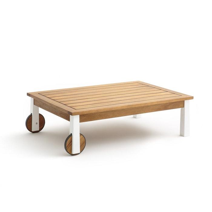 Table basse de jardin, adriel bois blanc Am.Pm | La Redoute