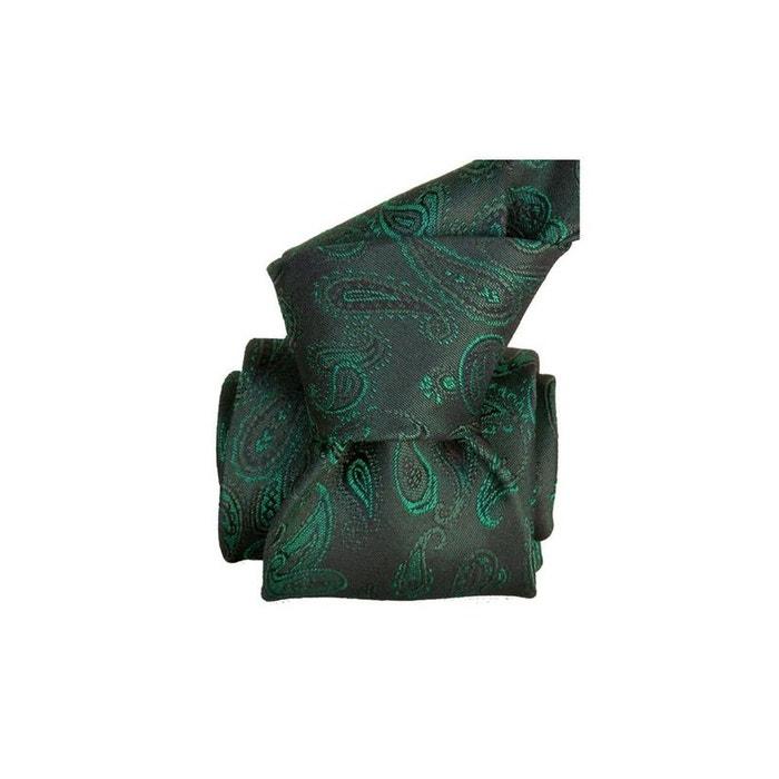 Cravate segni disegni luxe, faite main, alexandrie vert vert Segni Et Disegni   La Redoute