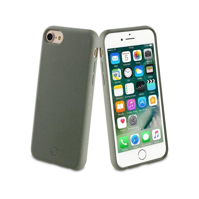Coque iPhone 6/7/8/SE 2020 Bambootek vert
