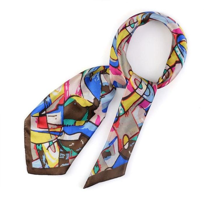 carr de soie khaos allee du foulard la redoute. Black Bedroom Furniture Sets. Home Design Ideas