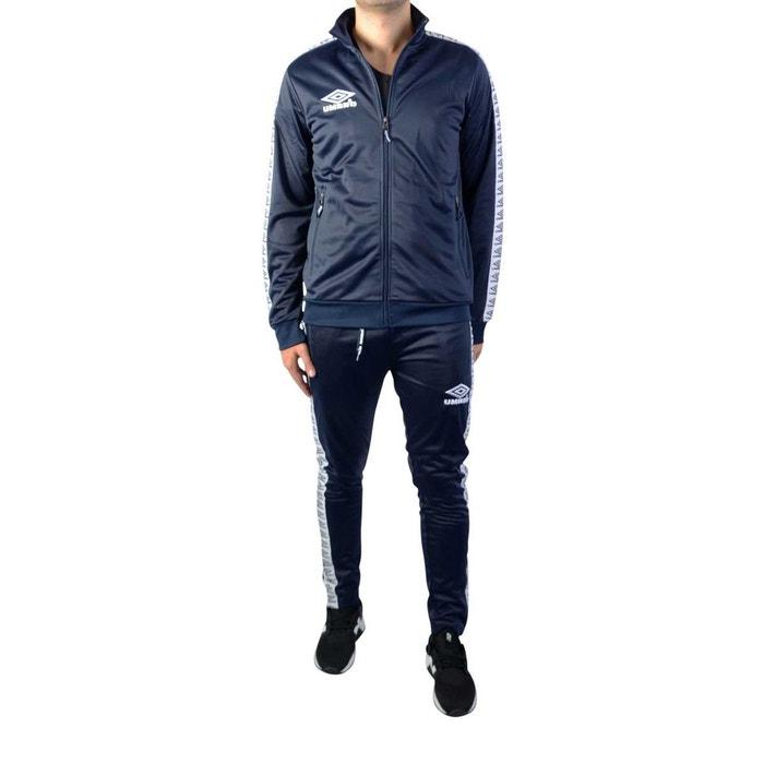 dbb1530780c Survêtement polyester homme ensemble veste et pantalon molleton street  Umbro