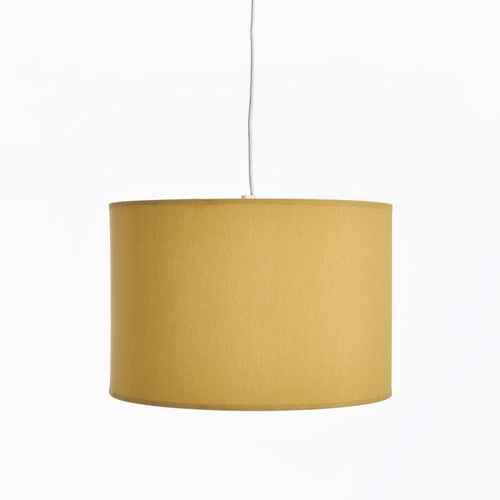 suspension ou abat jour 30 cm falke moutarde la redoute interieurs la redoute. Black Bedroom Furniture Sets. Home Design Ideas