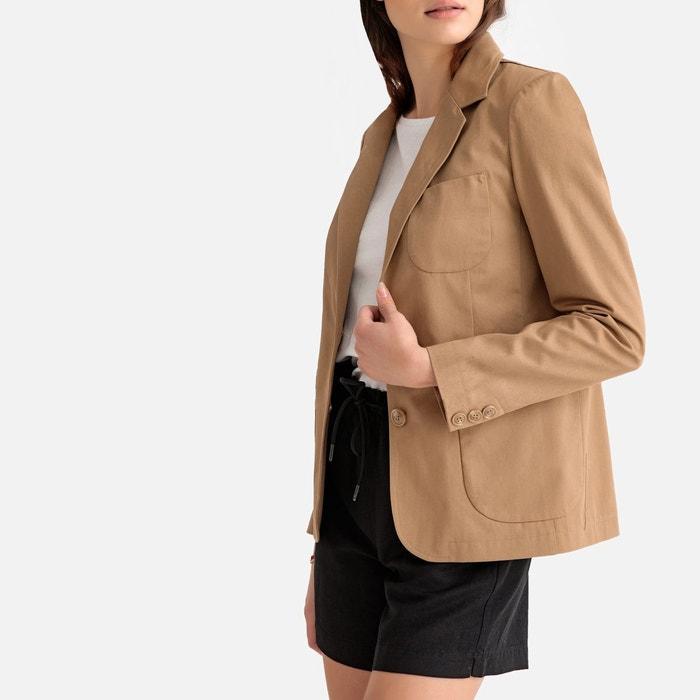 a7f266bbda80 Veste blazer coupe cintrée La Redoute Collections