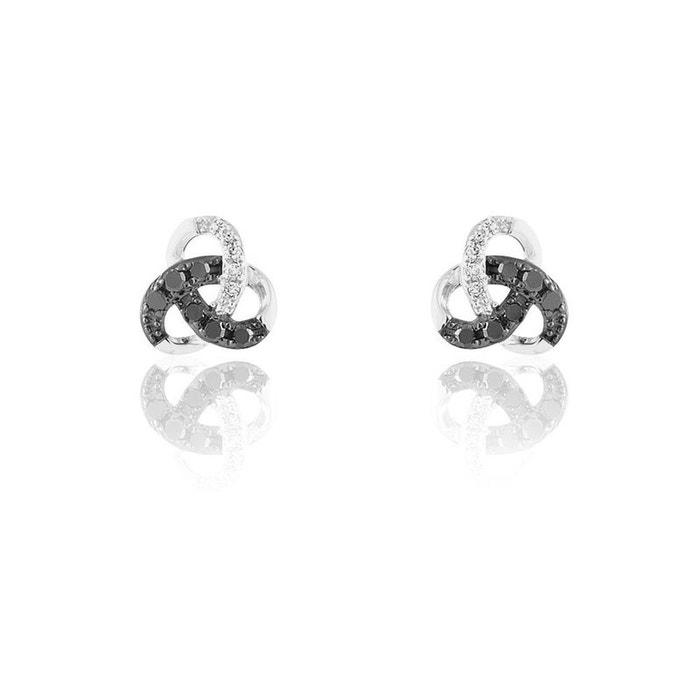 Style De Mode En Ligne Boucles d'oreilles or blanc Histoire D'or   La Redoute Sites À Vendre HsN4myhI