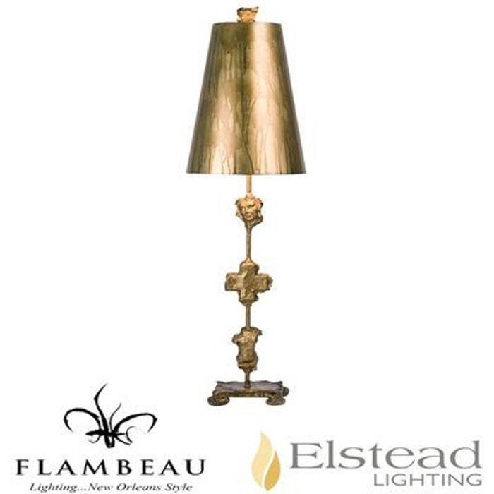 Lampe Table De 1x60w Flambeau Fragment Lampadaire Or 4jAR5L3
