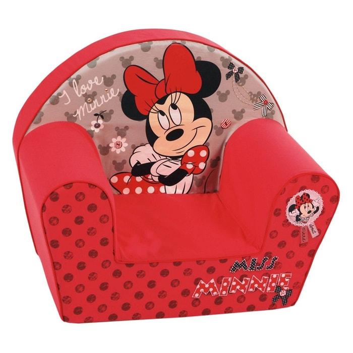 Fauteuil club mousse minnie mouse disney rose minnie mouse la redoute - Fauteuil club minnie de disney ...