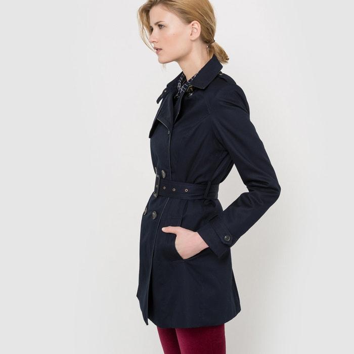 11b837ea29de6 Short cotton trench coat