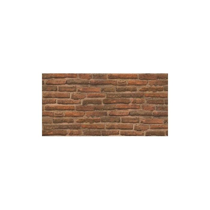 papier peint mur de briques home maison la redoute. Black Bedroom Furniture Sets. Home Design Ideas