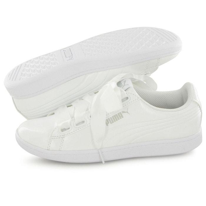 Vikky ribbon patent blanc Puma