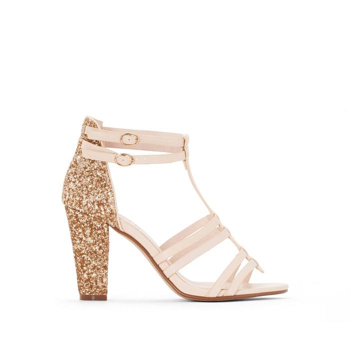 Image Glitter Heel Sandals MADEMOISELLE R