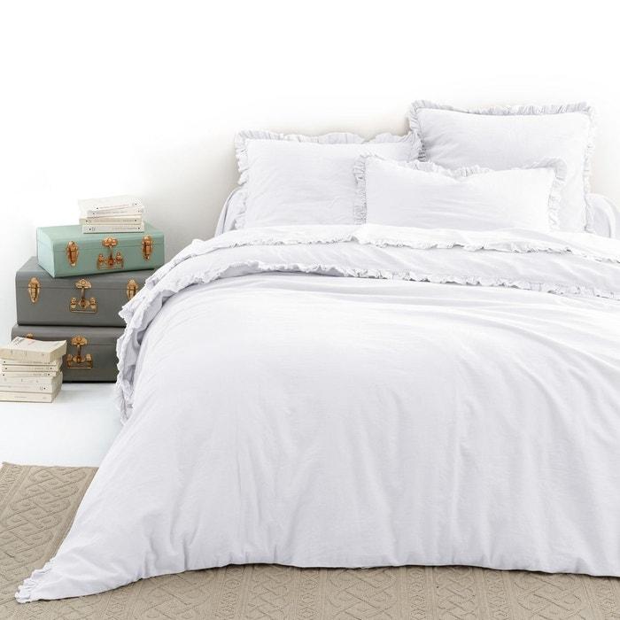 housse de couette m tis lin coton nillow la redoute. Black Bedroom Furniture Sets. Home Design Ideas
