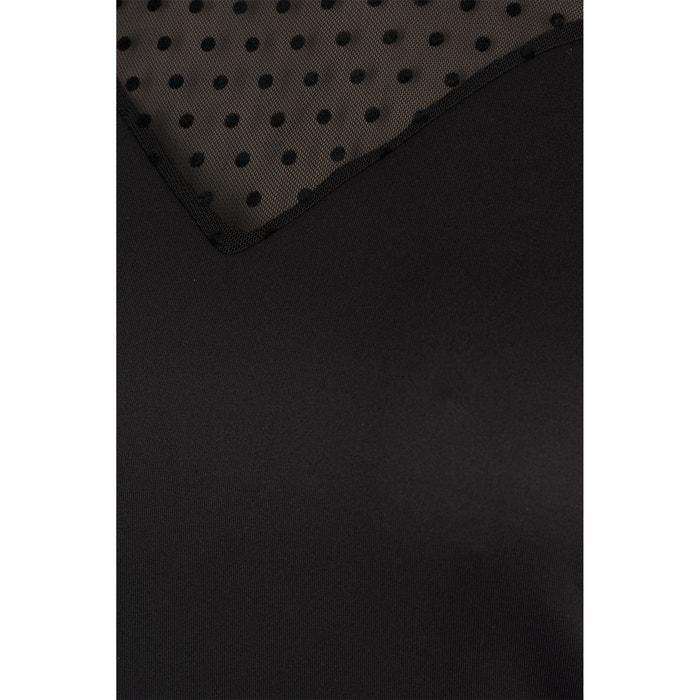 Vestido manga ZIZZI larga recto liso semilargo de zCppBPwq