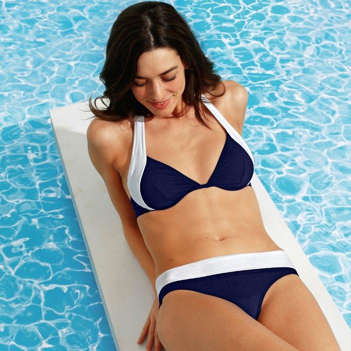Otra imagen de Sujetador de bikini tipo fular bicolor R édition