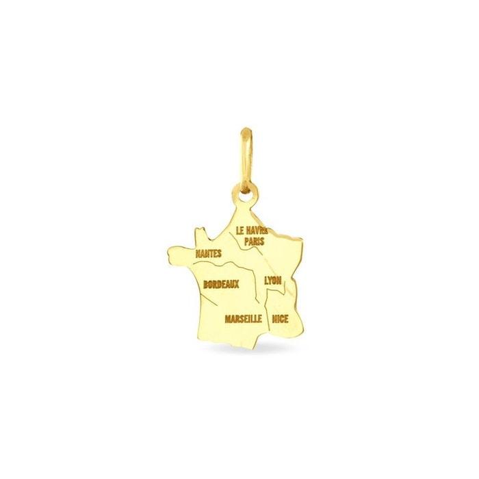 Vente De La France Pendentif or jaune Histoire D'or | La Redoute Qualité Supérieure En Ligne PROMOS JMXK578