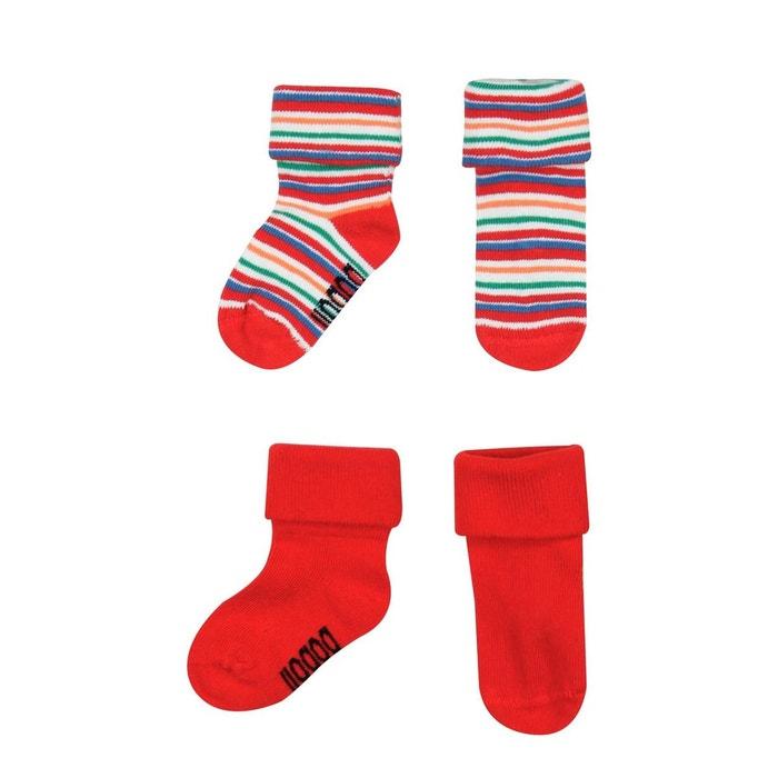 75149852ae38b Pack de chaussettes rouge Boboli | La Redoute