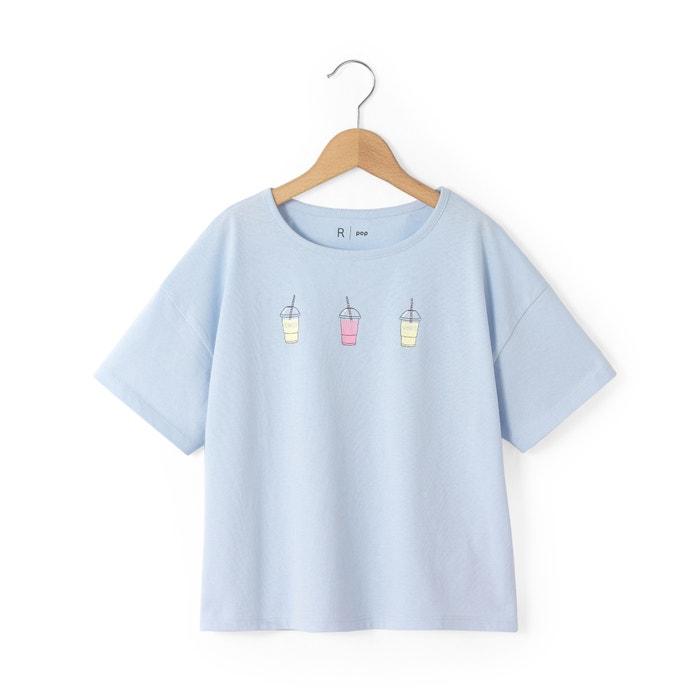 afbeelding T-shirt met korte mouwen La Redoute Collections