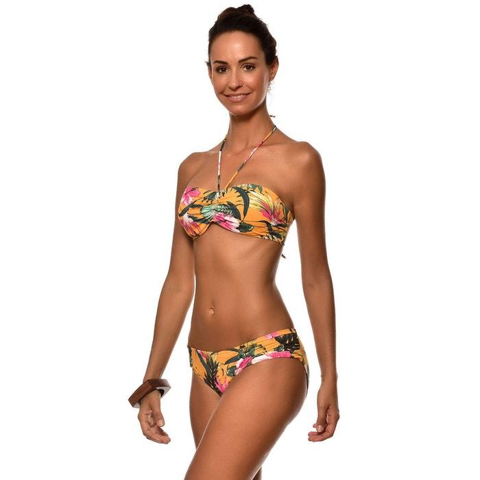 LIVIA Bas de maillot de bain deux pieces pour femme Livia STAEL SALEYA curry imprime fleuri Payer Avec Visa En Ligne Q6NYjHiMCn