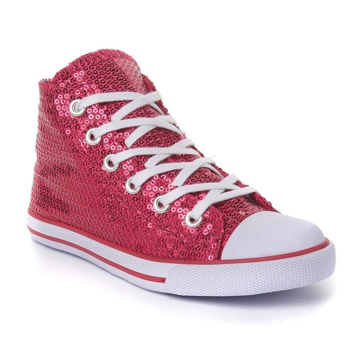 Imagen de Zapatillas deportivas de caña alta con lentejuelas niña R édition