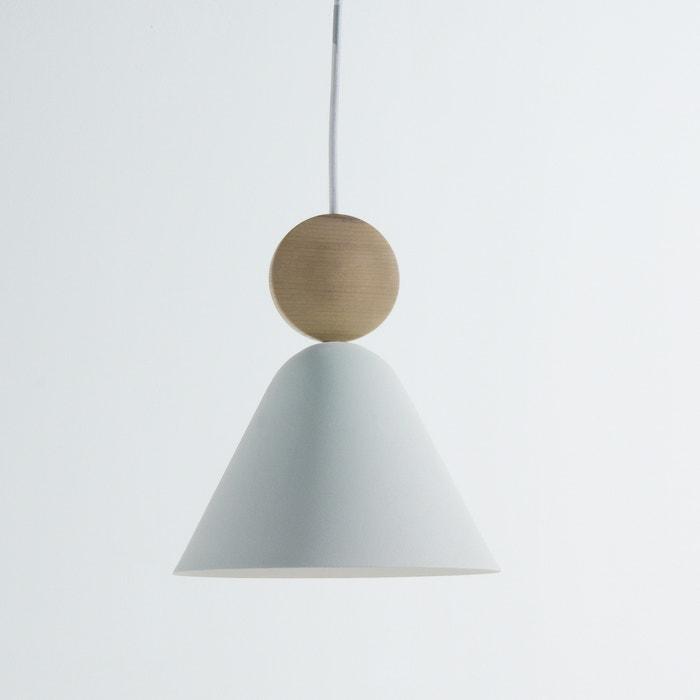 afbeelding Hanglamp in hout en metaal, Cotapi La Redoute Interieurs