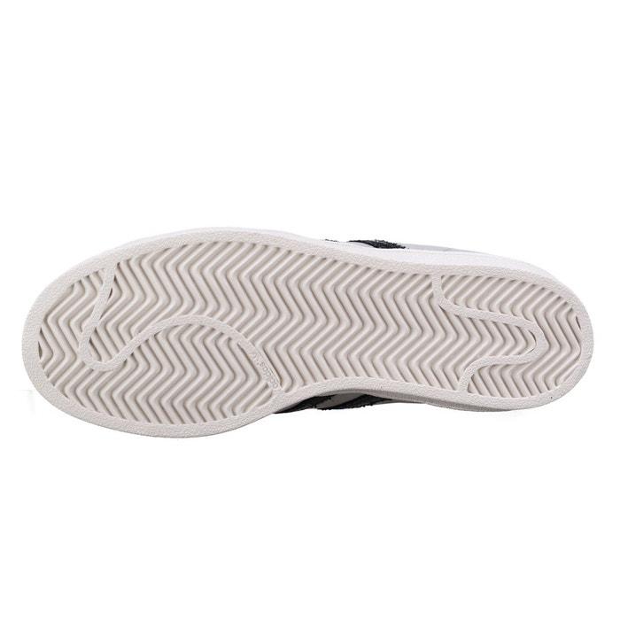 Basket adidas superstar fashion j by8883 gris / noir gris Adidas