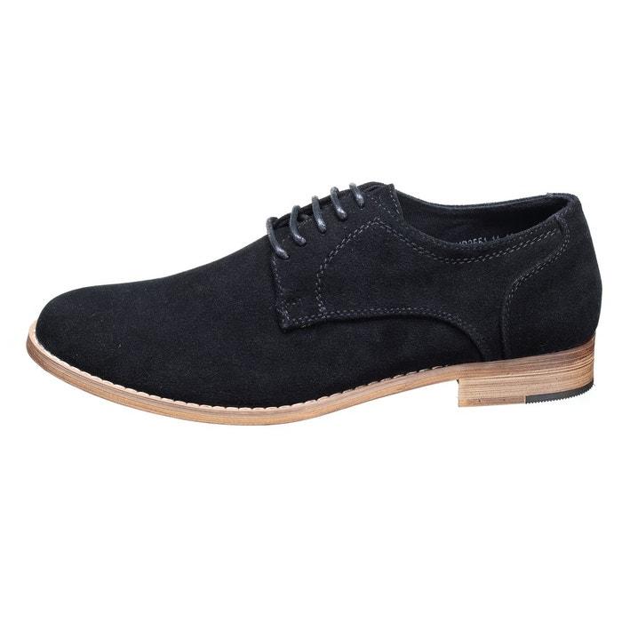 Chaussure derbie à lacets noir Uomo