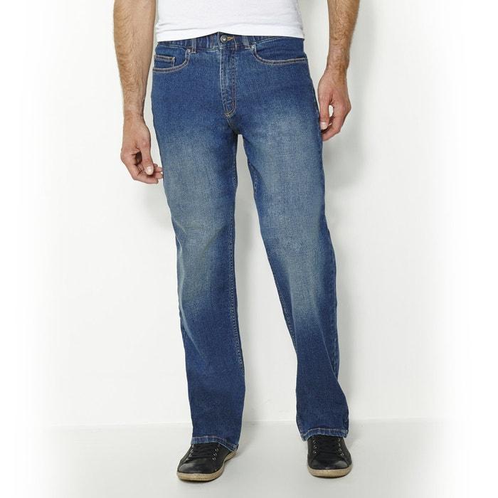 afbeelding Stretch comfort jeans met elastische taille, L2 CASTALUNA FOR MEN