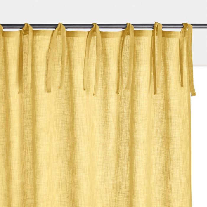 Tenda tinta unita effetto lino NYONG  La Redoute Interieurs image 0