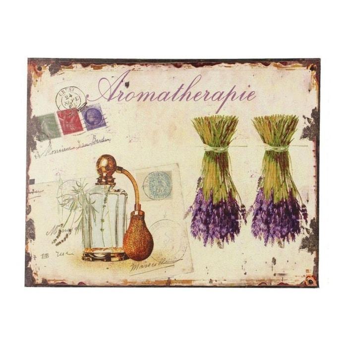 Tableau horizontal aromatherapie lavande 35x45cm couleur for Autrefois decoration