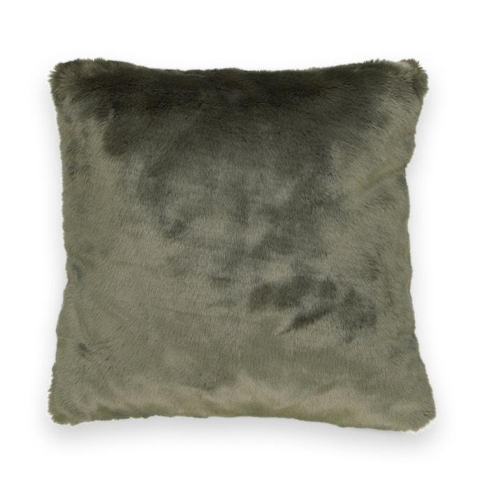 Federa per cuscino in pelliccia sintetica KANPUR  La Redoute Interieurs image 0