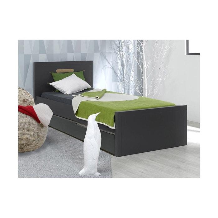 lit gigogne enfant milo 90x200 chambrekids la redoute. Black Bedroom Furniture Sets. Home Design Ideas