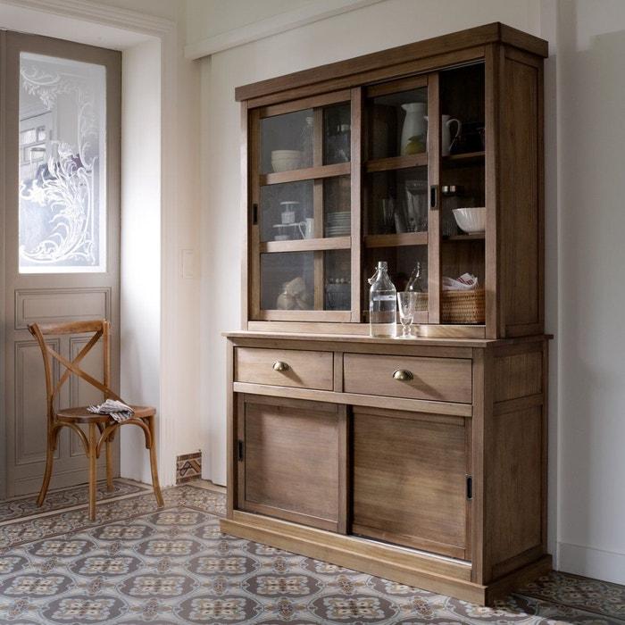 buffet 2 portes 2 tiroirs pin massif lunja la redoute interieurs la redoute. Black Bedroom Furniture Sets. Home Design Ideas