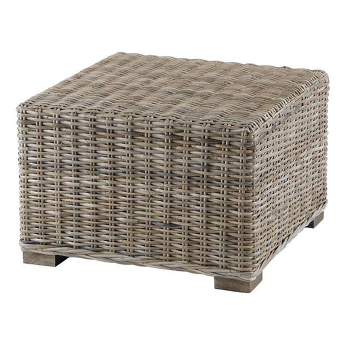 Bout de canap en kubu gris inwood la redoute - La redoute bout de canape ...