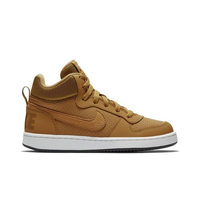 8ae03a56fa022 Baskets montantes court borough mid (gs) marron Nike